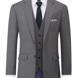 Farnham Tailored Fit Jacket Grey