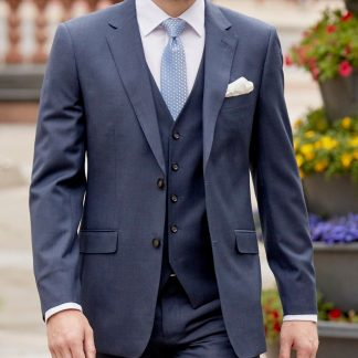 Joss-3-Piece-Tailored-Fit-Suit-Royal-blue