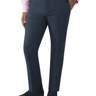Antibes Tailored Fit Chinos In Navy Or Stone Colour