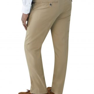 Antibes Tapered Chinos In Stone Or Navy Colour