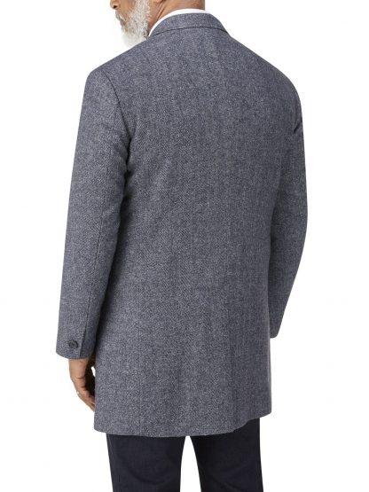 Tooting Over Coat In Blue