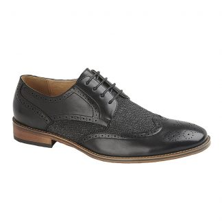 Brogue Gibson Shoe In Two Colours