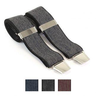 Braces Herringbone In A Choice Of Three Colours