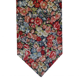 Liberty Fabric Tie & Pocket Square In Four Colours