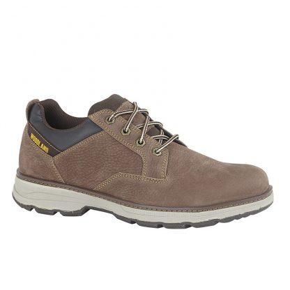 Woodland Nubuck Shoe In Brown
