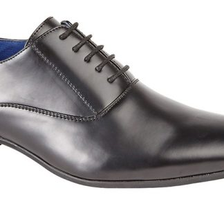Plain Oxford Shoe In Black Or Tan