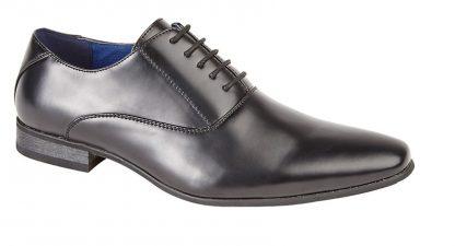 Plain Oxford Shoe In Black Or Tan