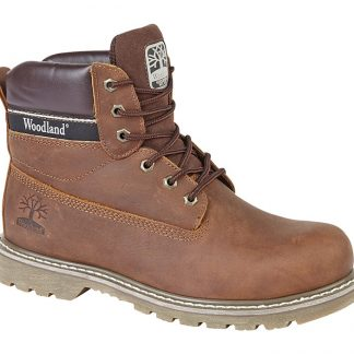 Woodland Boot In Brown Leather